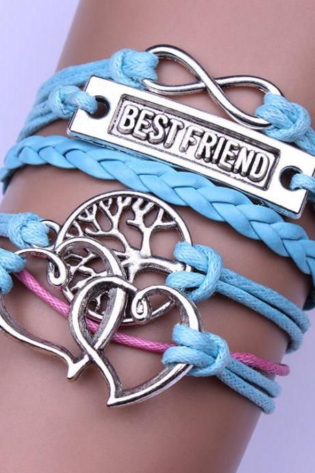 Heart Tree Of Life Bestfriend Bracelet