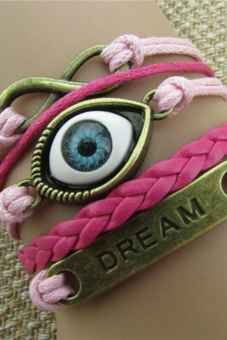 Turkey's Eyes Dream Multilayer Bracelet