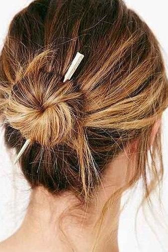 Fashion Metal Bar Hairpin