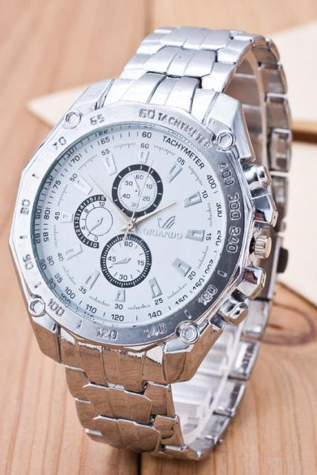 Fashion Three Eyes Business Quartz Watch