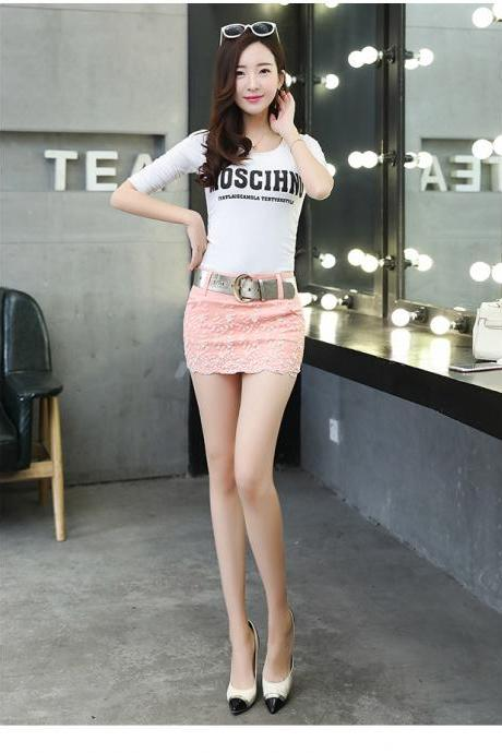 Fashion Sexy Cowboy Temperament Bodycon Skirts