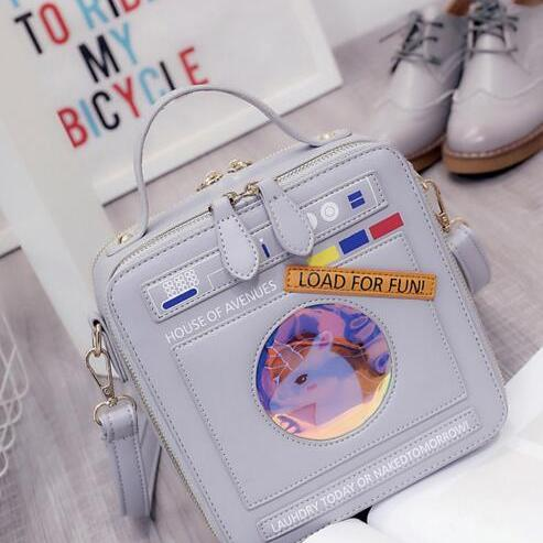Laundry Washing Machine Design Crossbody Bag