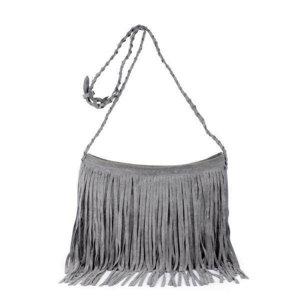 Retro Tassel Women Crossbody Bag