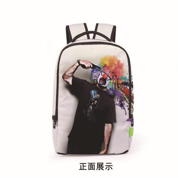 Fashionable 3D Printing Unisex Backpack