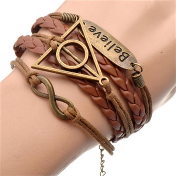 Harry Potter Eight Multielement Colored Bracelets