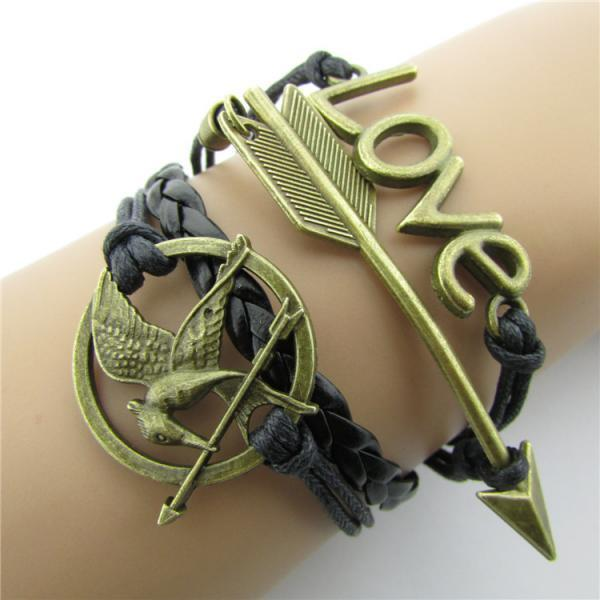 Love Birds Arrow Multielement Bracelet