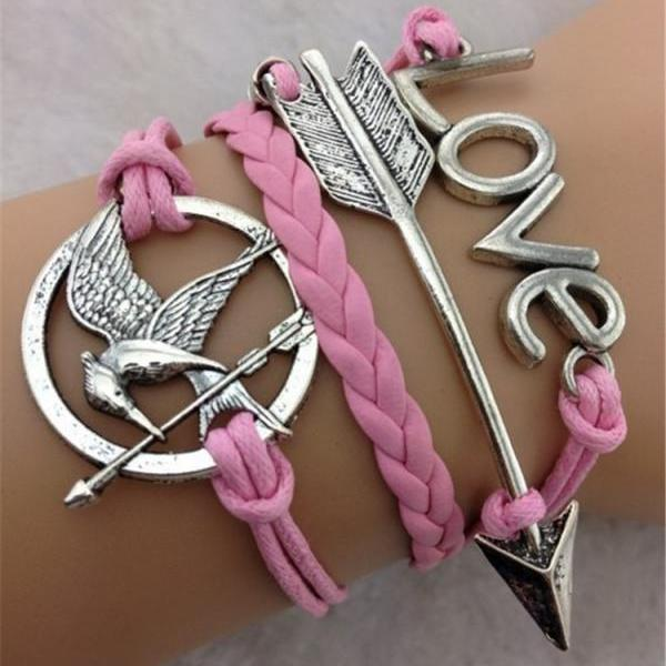LOVE Arrow Birds Fashion Bracelet
